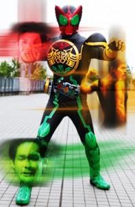 仮面ライダーオーズの照英コンボ画像ください