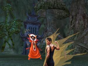 照英が大魔王ゾーマと対峙している画像ください