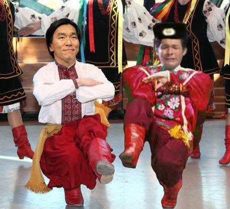 照英が泣きながら松井秀喜とコサックダンスしてる画像ください