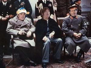 照英と川越シェフがヤルタ会談で今後の展望を話してる画像ください