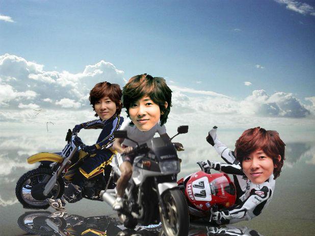 川越シェフがウユニ塩湖でバイクを乗り回してる画像ください
